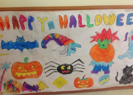 Halloween en el Colegio Punta Galea