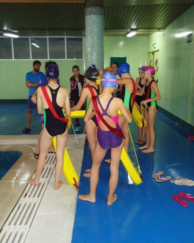 Jornada de Salvamento y Socorrismo Deportivo Escolar – Escuela de Natación