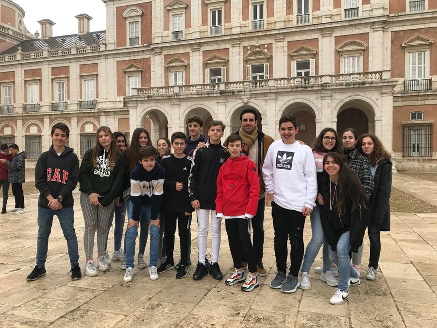 Centro educativo Punta Galea – Excursión a Aranjuez