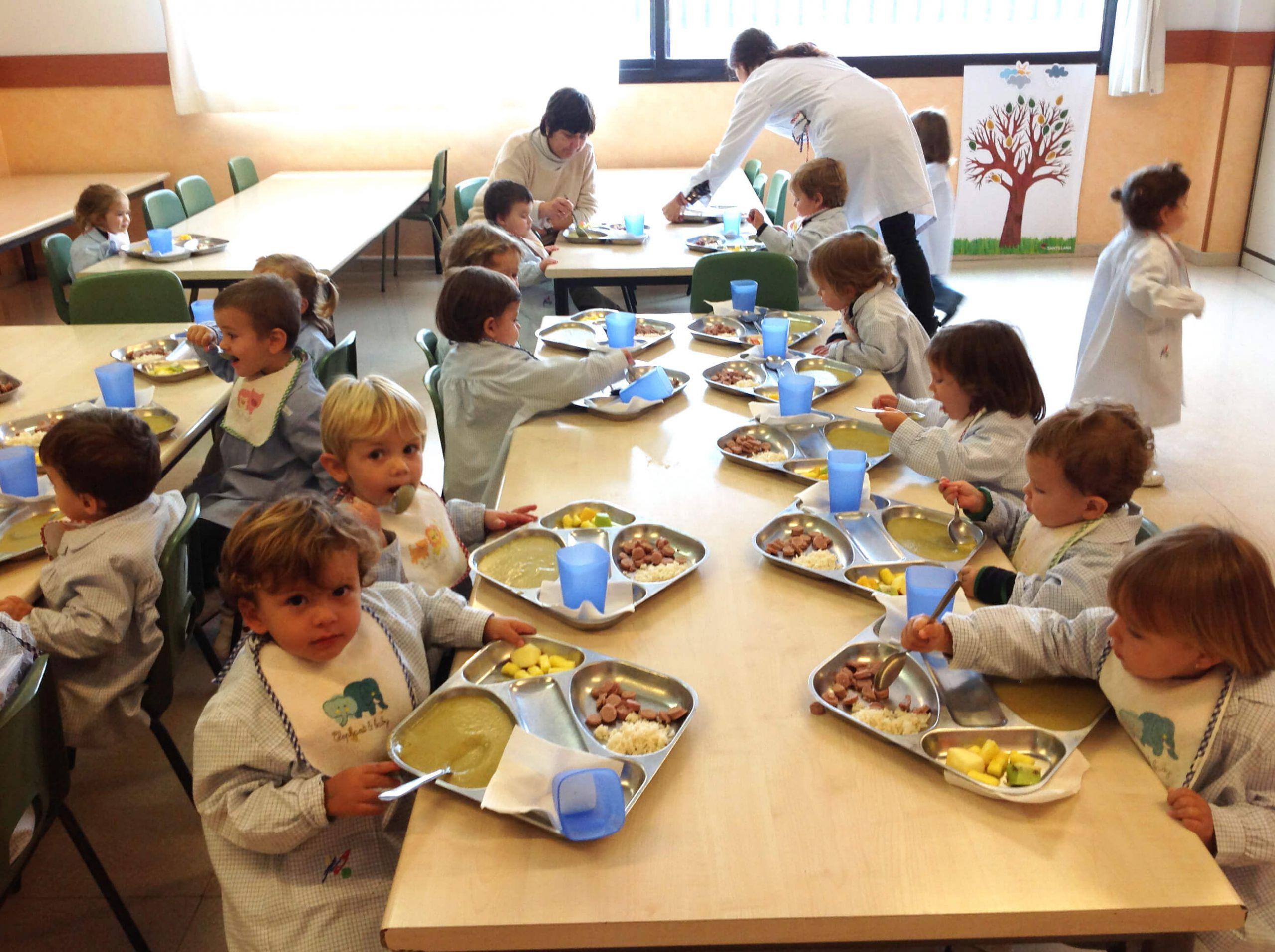 Comedor de educación infantil