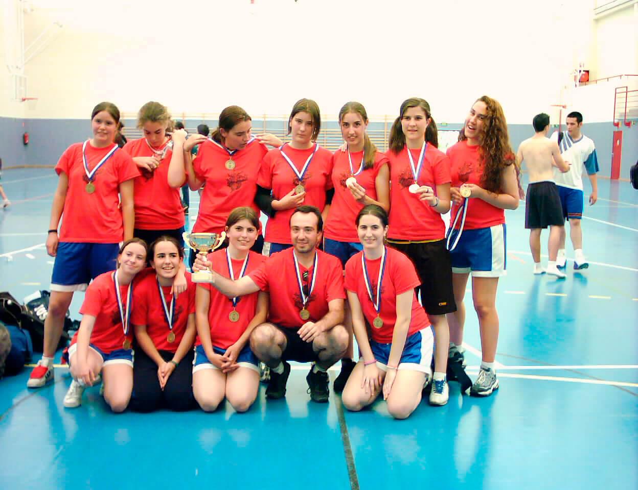Equipo de competición del Colegio Punta Galea
