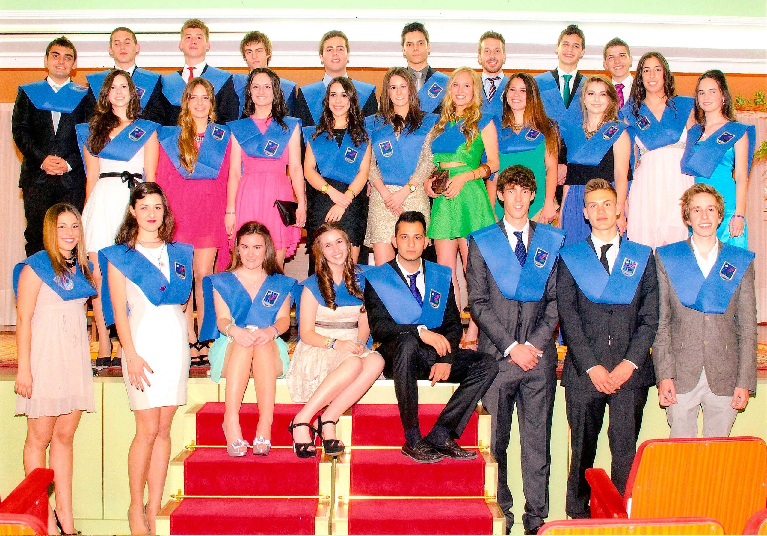 Graduación de los alumnos