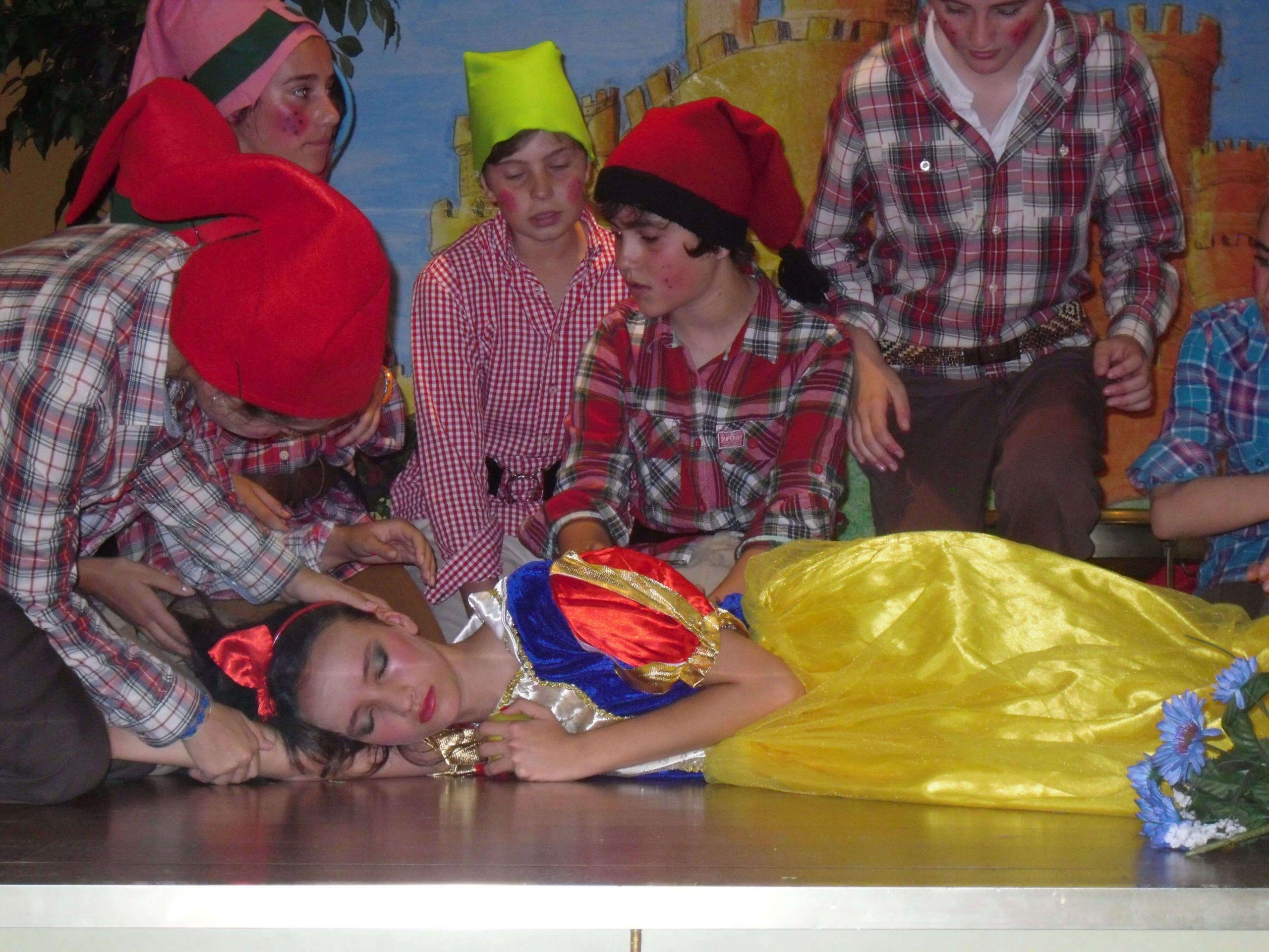 Obra de teatro de los alumnos