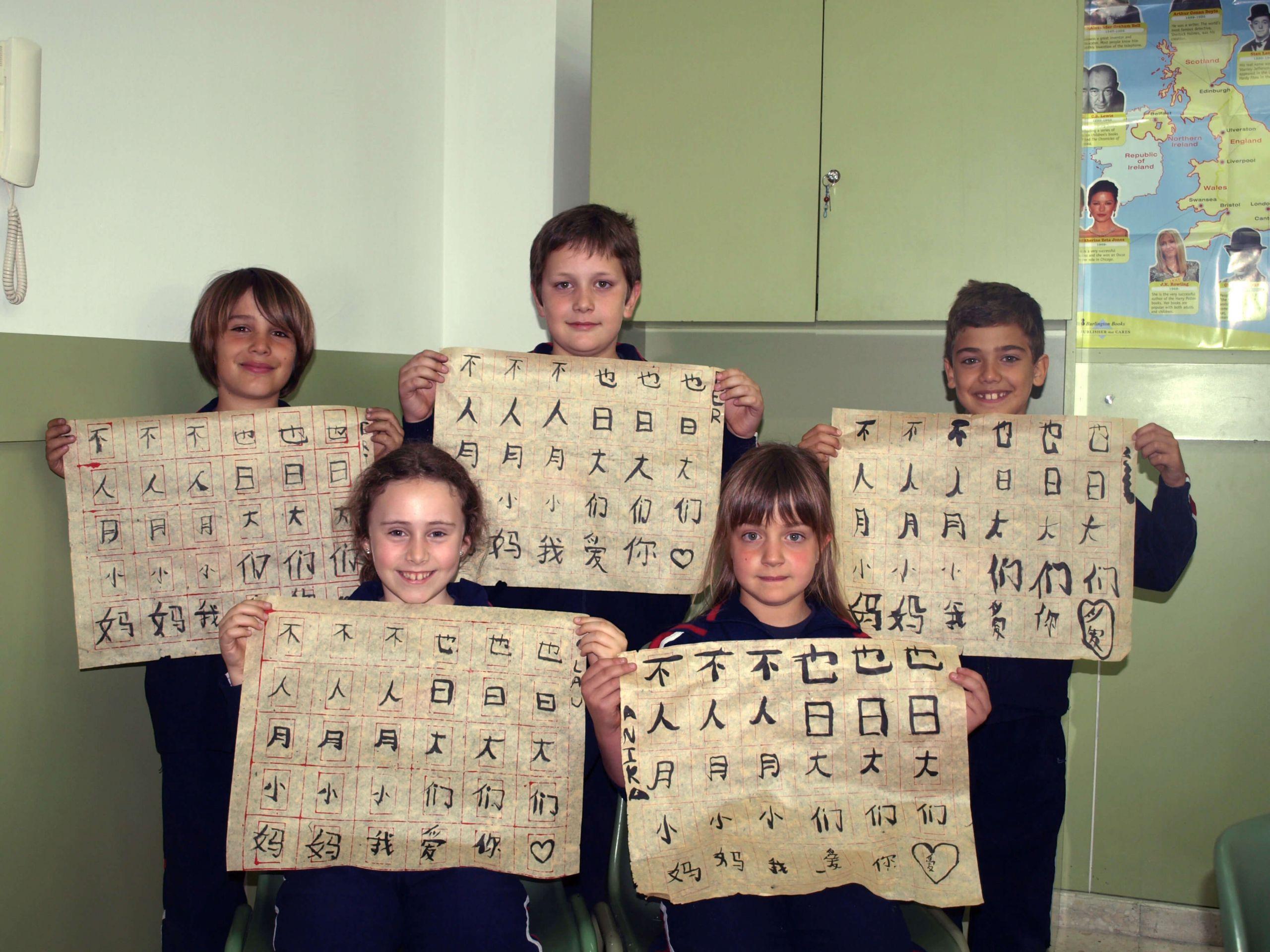 Taller extraescolar de chino mandarín