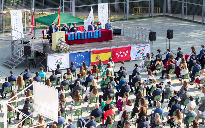 Colegio Punta Galea – Las Rozas – Graduaciones