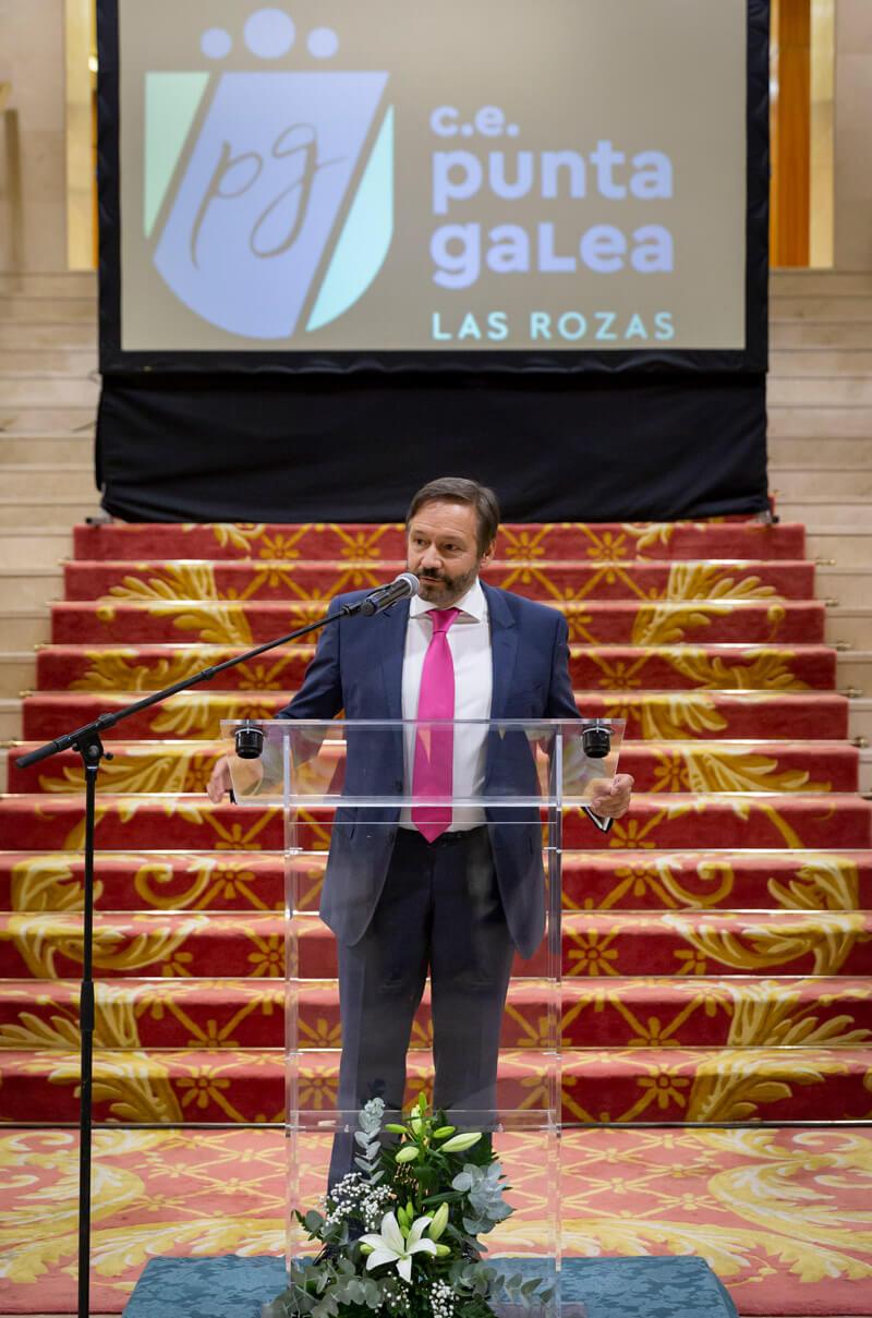 Discurso del nuevo diector D. Javier Fábregas